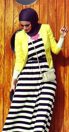 Hijab style - Instagram: Dalalid Stylish Hijab, Hijab Casual, Hijab Chic, Hijab Outfit, Muslim Fashion, Modest Fashion, Girl Fashion, Fashion Outfits, Fashion Design