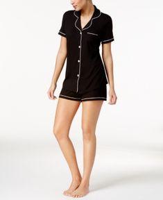 Cosabella Bella Satin-Trim Short Pajama Set AMORE9621, Online Only -