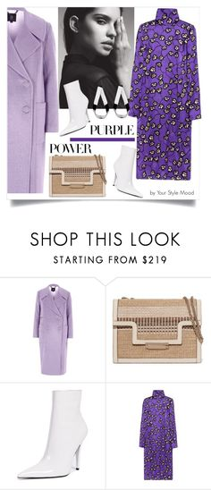 """Purple Power"" by yourstylemood on Polyvore featuring мода, River Island, AERIN, Jeffrey Campbell, Jennifer Fisher, polyvorecontest, purplepower и entercontest"
