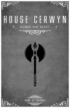 Hacha negra de los Cerwyn