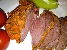 Poľovnícka pochúťka z diviaka (fotorecept) - Recept Steak, Beef, Foods, Meat, Food Food, Food Items, Steaks