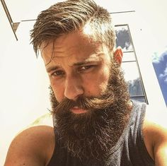Bearded men never have a bad day. But this guy comes real close.