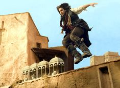 prince of persia sands of time movie photo Jake Gyllenhaal jumping