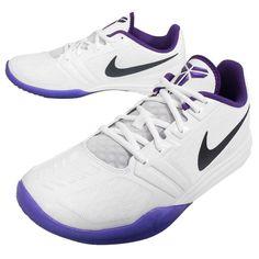 NIKE KB MENTALITY MENS KOBE MAMBA WHITE GRAPE [704942 101] ELITE SIZE 8.5 NEW #Nike #AthleticSneakers
