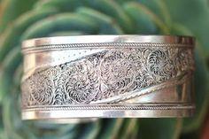 Fine Silver Filigree Cuff Bracelet – Yourgreatfinds