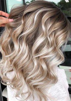 Fantastic Balayage Highlights with Dark Roots for 2019 #haircolorideas