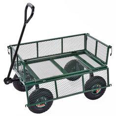 Garden Cart Yard Wagon Outdoor Utility Lawn Carrier Gardening Buggy Wheelbarrow for sale online Wheelbarrows For Sale, Wheelbarrow Garden, Metal Art Projects, Garden Cart, Utility Cart, Cordless Circular Saw, Construction Tools, Lee, Amazing Gardens
