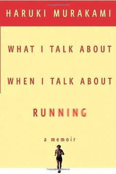 Little is known about Haruki Murakami unless you read this memoir. He is delightful and you'll feel great affinity for him, if you're a runner too! Let's Run!