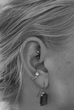 I like the hoop in the conch...maybe a stack... Unique Ear Piercings | Pin Unique Ear Piercings on Pinterest
