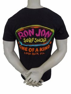 """Ron Jon Surf Shop """"One Of A Kind"""" Shirt Size M Cocoa Beach Florida Gray #Allstyle #GraphicTee"""