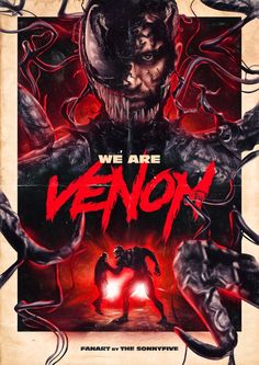 """You are watching the movie Venom on Putlocker HD. When Eddie Brock acquires the powers of a symbiote, he will have to release his alter-ego """"Venom"""" to save his life. Films Marvel, Marvel Movie Posters, Marvel Memes, Film Posters, Comic Movies, Comic Book Characters, Marvel Characters, Marvel Comic Universe, Marvel Cinematic Universe"""