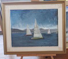 Marina, veleros. Creado por Correa stankevicaite - tettor