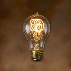A21 Antique Light Bulb - 40 Watt - 3000 Hours - 130 Lumens
