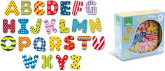 Alphabet Magnets #8017 #magicforesttoys #vilac