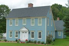 saltbox home | Saltbox home ~♥~ | Saltbox ~ Colonial Homes