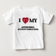I love my Advertising Account Executive Tee T Shirt, Hoodie Sweatshirt