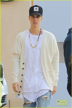 Justin Bieber Plays Beethoven in Beverly Hills - Watch The Vid!: Photo #915250. Justin Bieber heads out of lunch with Corey Gamble while out on Thursday afternoon (January 14) in Beverly Hills, Calif.    The two friends stopped by Bouchon bistro…