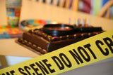 crime scene tape, mystery party, spy parties, kids parties, birthdays, themes, games, activities,