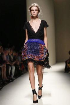 Alberta Ferretti Ready To Wear Spring Summer 2014 Milan - NOWFASHION