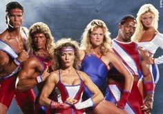 american gladiators, this is what i wanted to be when i grew up!