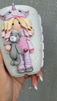 Sculpey Clay, Cute Polymer Clay, Cute Clay, Polymer Clay Dolls, Polymer Clay Projects, Handmade Polymer Clay, Polymer Clay People, Polymer Clay Disney, Polymer Clay Christmas
