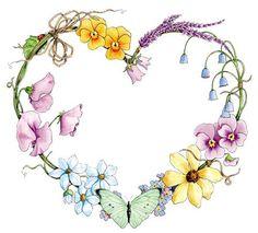 Garden Heart - mooolto romantico