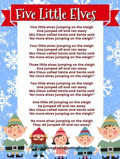 Best Christmas Songs for Kids and Preschoolers with Lyrics - Christmas Celebration - All about Christmas