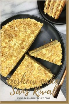 Layer Cashew Cake Sans Rival - Layered with buttercream, this meringue-based Cake Sans Rival finished off with roasted chopped cas - Filipino Desserts, Filipino Recipes, Filipino Food, Mexican Recipes, Beer Recipes, Cake Recipes, Dessert Recipes, Pastry Recipes, Recipes Dinner