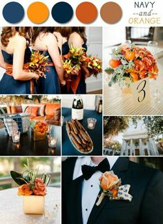 diy mariage en automne, comment combiner les couleurs pour un mariage en automne