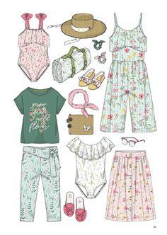Minicool Kids - Trend Forecast Spring/Summer 2020 Source by fashionmagz fashion trends spring summer - Children's fashion Spring Fashion Trends, Summer Fashion Trends, Summer Trends, Fashion 2020, Daily Fashion, Kids Fashion, Fashion Design, Trendy Fashion, Girl Trends