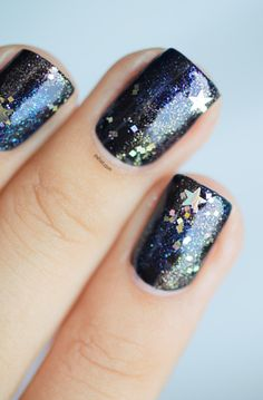 knockout nails: nail art trends  starrrrrs 8D