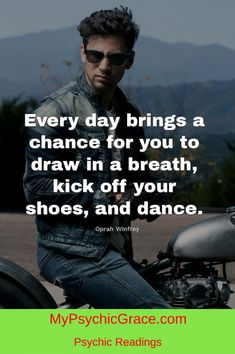 Dance everyday ... Psychic Readings, Oprah Winfrey, Your Shoes, Breathe, Kicks, Mens Sunglasses, Bring It On, Journey, Dance