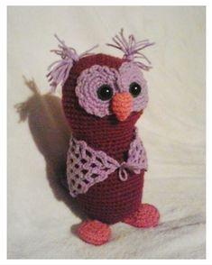 Zvídavá přátelská sova v roztomilém provedení, různé barvy Owl, Crochet Hats, Beanie, Knitting Hats, Owls, Beanies, Beret