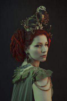 https://flic.kr/p/Fp7HJw | Amaranthe | Model - La Dutchessa Dress - Somnia Romantica Crown - Candice Angélini Jewelry - Cu Nature Photography - Laura Sheridan's Art