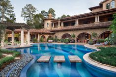 Memorial Moroccan - mediterranean - Pool - Austin - JAUREGUI Architect Builder