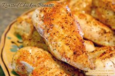 Roasting chicken breasts that remain moist and tender is SO simple with my new NuWave Oven! Quick and easy dinner doesn't get simpler than this!