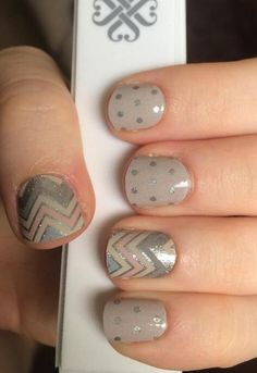 Icy Taupe Polka and Sugar & Spice http://www.aubreymueller.jamberrynails.net