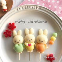 Miffy shiratama by reco (@k.kimreco)