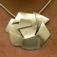 a1. Handgemaakte hanger zilver: Ayuda
