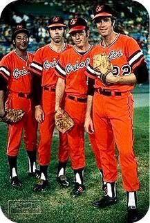 Four 20 Game Winners Mike Cuellar, Pat Dobson, Dave McNally, & Jim Palmer Baseball Photos, Sports Baseball, Baseball Players, Baseball Records, Mlb Players, Baseball Stuff, Baseball Scoreboard, Sports Pics, Baseball Art