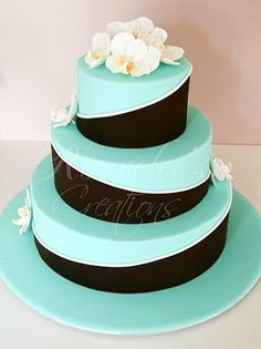 What a great way to get the topsy turvy look with just using regular size cakes.
