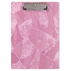 Pink Stain Glass Clipboard http://www.zazzle.com/pink_stain_glass_clipboard-256428823341423943?rf=238271513374472230  #school supplies