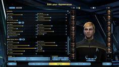 Star Trek Online Character Creator