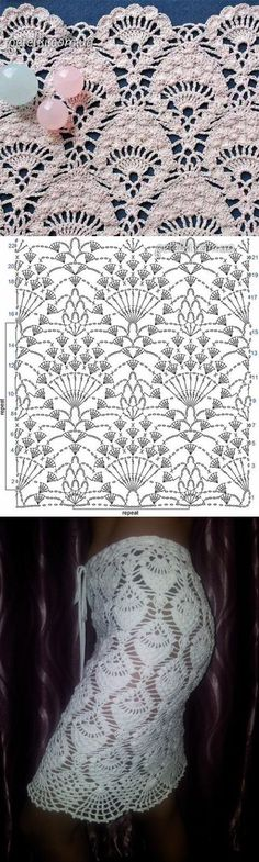 Новый способ вязания 'ананасов' крючком | Искусница