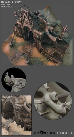 Aarklash 2012 by Tangi Bodio on ArtStation.
