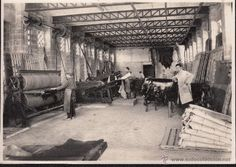 fotos antiguas cocentaina - fabrica de calzados y curtidos hijos de Venancio Riera