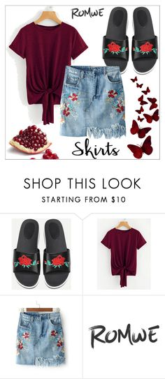 """""""Romwe 4/29"""" by goldenhour ❤ liked on Polyvore"""