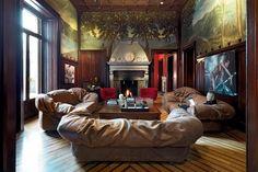 "No 2 all time favourite in ""cloud"" fabric: Sfatto Sofa by Francesco Binfare for Edra | Space Furniture"