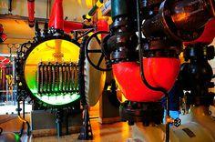 Museu da Electricidade (Electricity Museum), Lisbon, Portugal.