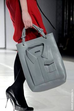 100% leather (Sheep) bag from Dasha Gauser.